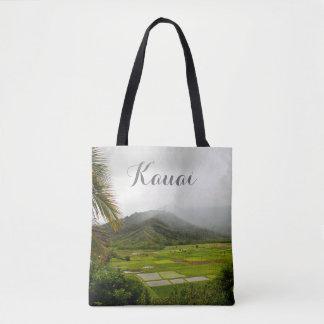 Kauai, Hawaii Forest Scene Tote Bag