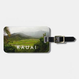 Kauai, Hawaii Landscape Scene Luggage Tag
