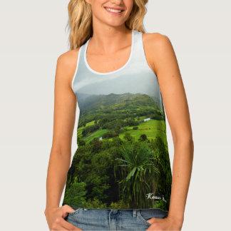 Kauai, Hawaii Landscape Scene Tank Top
