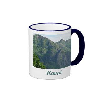 Kauai Hawaii Mountainscape Mugs