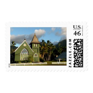 Kauai Hawaii North Shore Chapel stamp