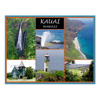 Kauai Hawaii Postcard