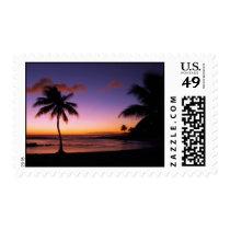 Kauai Hawaii Sunset Postage