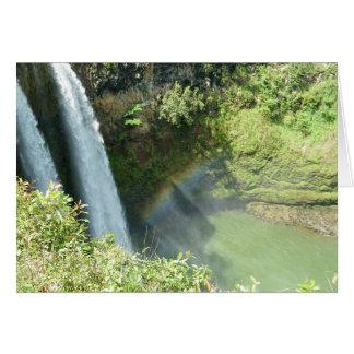 Kauai Hawaii Wailua Falls Card