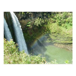 Kauai Hawaii WailuaFalls Postcard