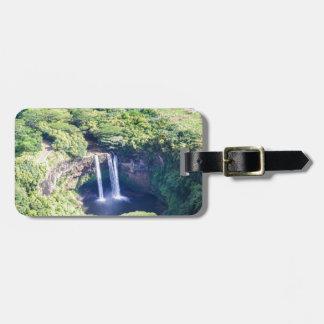 Kauai, Hawaii Waterfall Travel Bag Tag