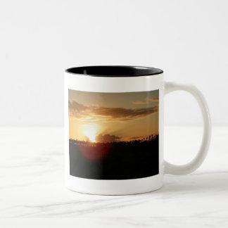 Kauai Hawaiian Sunrise Two-Tone Coffee Mug