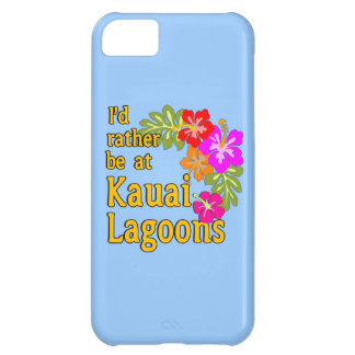 Kauai Lagoons I'd Rather be at Kauai Lagoon Hawaii iPhone 5C Cover