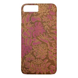 Kauai Morning Hawaiian Protea Faux Wood Floral iPhone 7 Plus Case