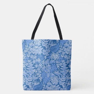 Kauai Morning Hawaiian Protea Floral Beach Bag