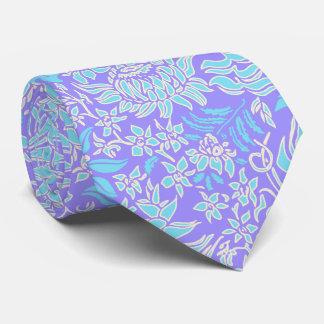 Kauai Morning Hawaiian Protea Floral Tie