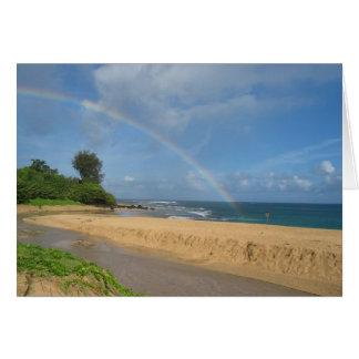 Kauai Rainbow Card