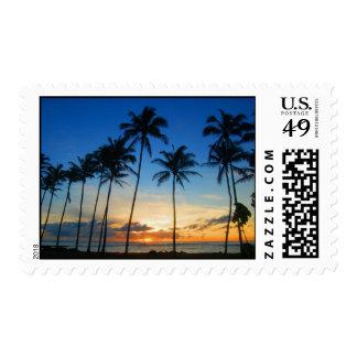 Kauai Sunrise - Kapaa Stamps