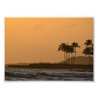 Kauai Sunset Photo Print