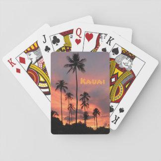 Kauai Sunset Playing Cards