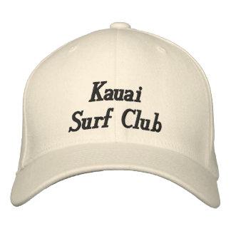 Kauai Surf Club Hat Embroidered Baseball Caps