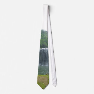 Kauai Waterfall mens Necktie