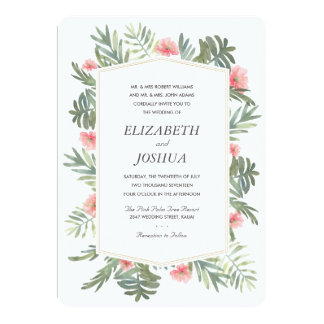 Kauai Wedding Card