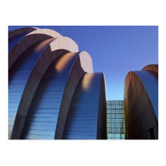 Kauffman Center Curves and Shadows, Kansas City Postcard