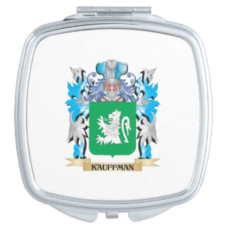 Kauffman Coat of Arms - Family Crest Mirrors For Makeup