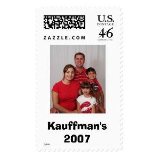 Kauffman Family 4, Kauffman's 2007 Stamp