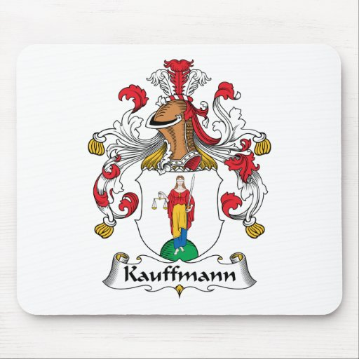 Kauffmann Family Crest Mouse Pads
