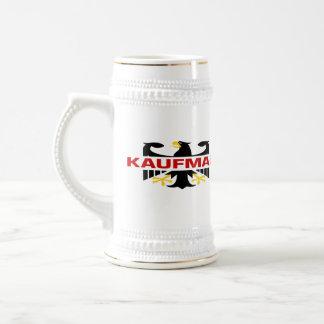 Kaufman Surname 18 Oz Beer Stein
