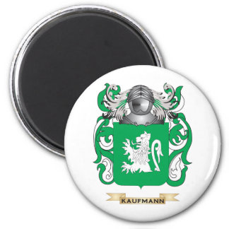 Kaufmann Coat of Arms Family Crest Refrigerator Magnet
