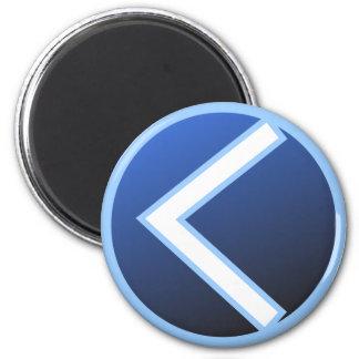 Kaunan Kaun Kanaz Rune 2 Inch Round Magnet