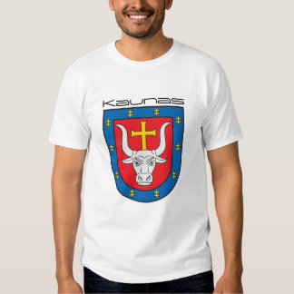 Kaunas old CoA in front - small Vytis in the back T Shirt