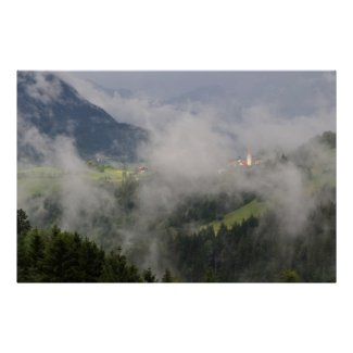 Kaunertal Austrian Tyrol print