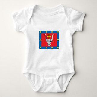 Kauno County Flag Baby Bodysuit
