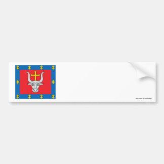 Kauno County Flag Bumper Sticker