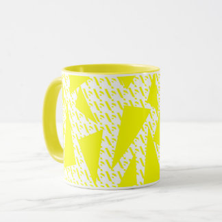 Kaur - Sikh Design - Yellow Mug