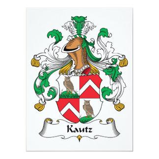 Kautz Family Crest Card