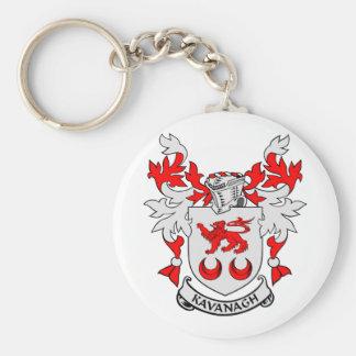 KAVANAGH Coat of Arms Keychain