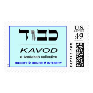 Kavod - colectividad de Tzedakah Estampillas