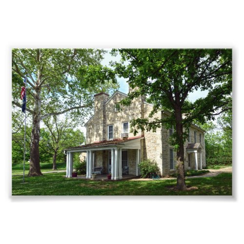 Kaw Mission, Council Grove, Kansas Photo Print