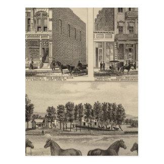 Kaw Valley Farm, Marion, and Topeka, Kansas Postcard