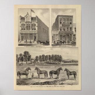 Kaw Valley Farm, Marion, and Topeka, Kansas Print
