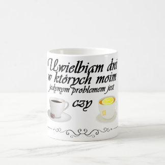 Kawa czy Herbata (front center image) Coffee Mug