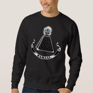 Kawaal Illuminati Crew Neck Black Sweatshirt
