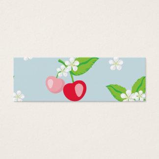 kawai,cherry,cute,trendy,girly,floral,modern,kids, mini business card