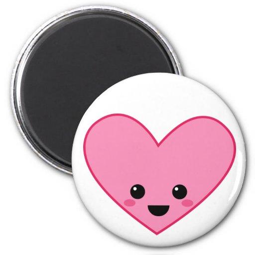 Kawai Kokeshi Heart Magnet
