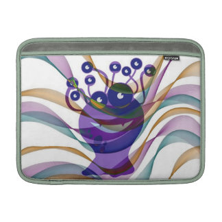 Kawai, monstruo, colorido, abstracto, diversión, funda  MacBook