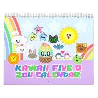 Kawaii 2011 Calendar calendar