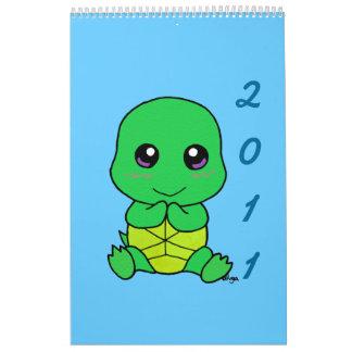 Kawaii 2011 calendar