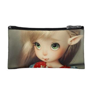 kawaii adorable elf doll bjd beautiful pretty girl makeup bags