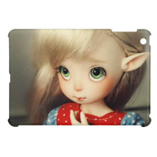 kawaii adorable elf doll bjd beautiful pretty girl iPad mini cases