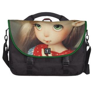 kawaii adorable elf doll bjd beautiful pretty girl laptop commuter bag